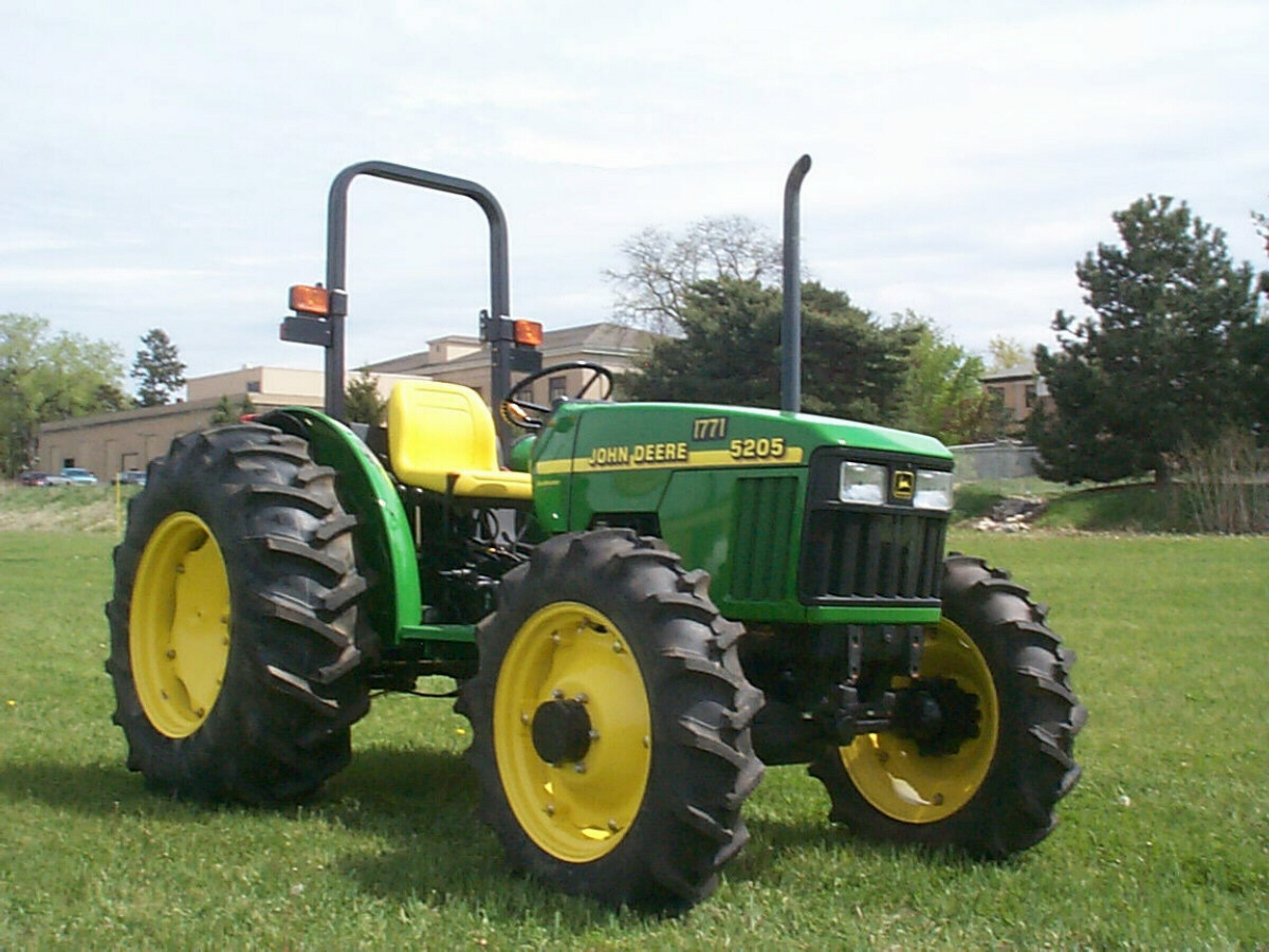 When Was The First Gas Powered Tractor Invented