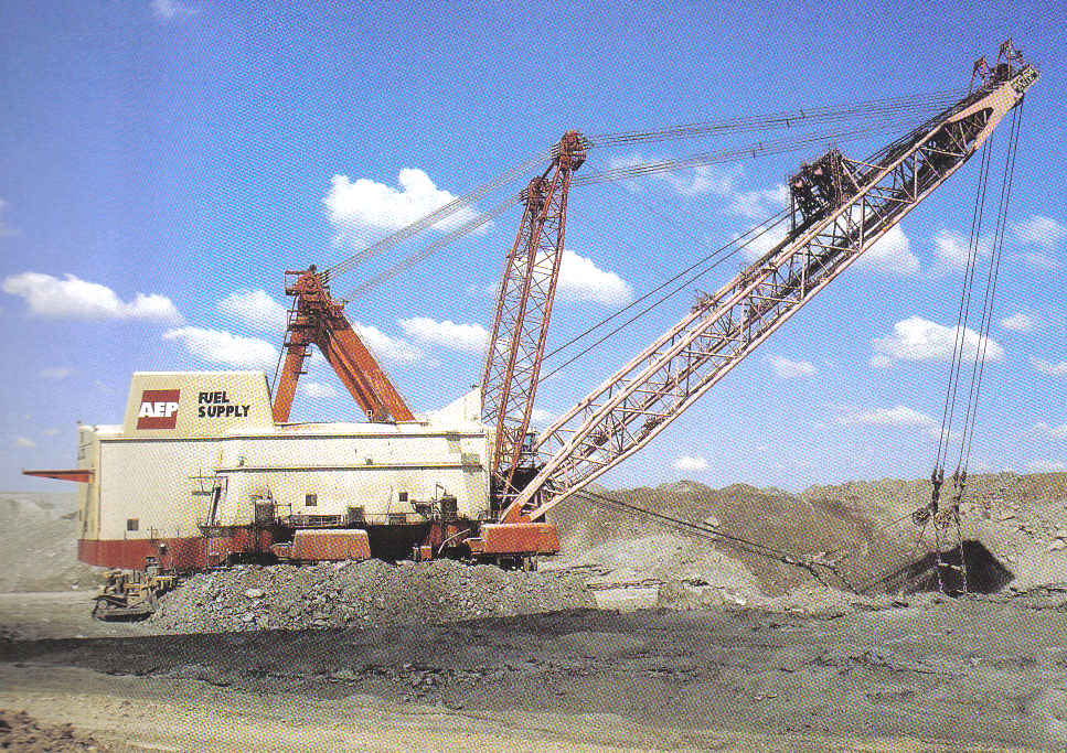 The Largest Walking Dragline Ever Made - Big Muskie!